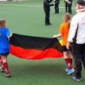 Eröffnungszeremonie mit Fahne