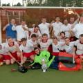 Die Buchholzer Hockey-Herren nach dem Aufstieg