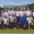 Das deutsche WM-Team mit Peter Barber (stehend zweiter Spieler von rechts)